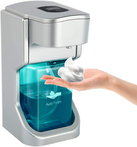 Automatic Soap Dispenser 500Ml Sensor Touch Less Foaming Liquid Hands Sanitizer