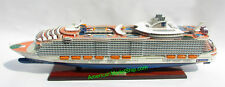 "MS HARMONY  OF THE SEAS Ocean Liner Model 36"" - Handcrafted Wooden Model NEW"
