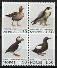 Norway 1981, Norwegian birds II set pairs MNH, NK 875-878