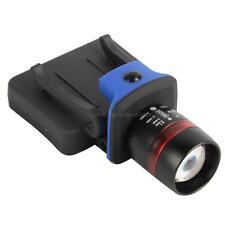400 lm Q5 DEL ZOOMABLE Cap Hat Light Torch Headlamp Headlight M1800 Randonnée NCYG