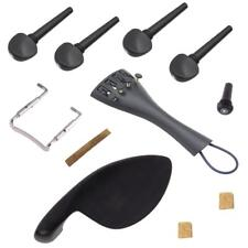 Violin Parts Chin Rest+Pegs+Tailpiece+Endpin+Tail Gut+Clamp for 4/4 Violins