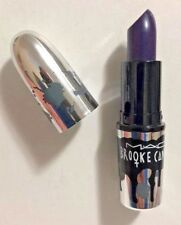 MAC Brooke Candy Lipstick - Witching Hour Matte  Purple Color Goth Full Size NEW
