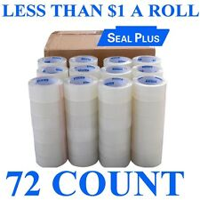 2 Box of 36 = 72 Roll SEALPLUS ™ 2x110 Carton Sealing Packing Package Clear Tape
