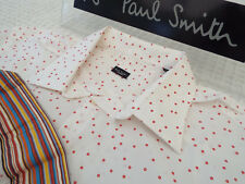 "PAUL SMITH Mens Shirt 🌍 Size 17.5"" (CHEST 48"")🌎RRP £95+📮IRREGULAR CICLE PRINT"