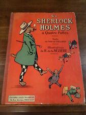 Un Sherlock Holmes à quatre pattes Galland de la Nézière Tallandier Illustré