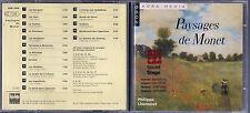 CD -  2099 KOKA MEDIA  PHILIPPE LHOMMET - PAYSAGES DE MONET   ( 60 )