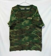 Future Combat Systems Erdl Woodland Camo Vintage soft thin T-Shirt men's Xxl Usa
