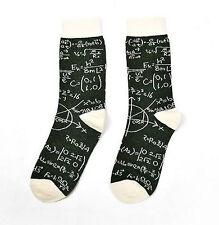 Maths Socks Physics E=mc Squared UK Size 5-8 Geek Nerd College Hipster Equations