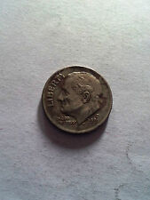 USA one dime 1 liberty in God we trust 2001 coin free shipping