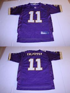 Youth Minnesota Vikings Daunte Culpepper L (14/16) Jersey (Purple) Reebok Jersey