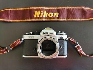 Nikon FE2 - Fotocamera 35mm pellicola - Metallizzato