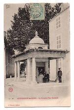 52 - cpa - BOURBONNE les Bains - La buvette d'eau thermale  (i 9247)