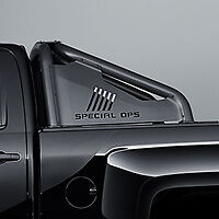 2016-2018 Sierra Silverado Bed Mounted Sport Bar 84126345 Black Special Ops OEM
