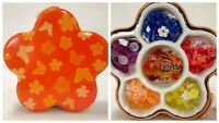Daisies & Sparkle Flower Shaped Collectible Tin w/ Girls Jewelry Making Kit New