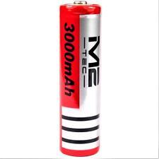 1 x M2 Tech Pro 3000 mAh Lithium - Ionen Akku 3,7 V / 11,8 Wh Typ 18650 je 37 g