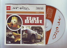 "cd  2 titres Mr OIZO -  "" flat beat ""-  ""monday massacre """