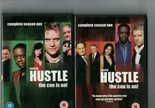 HUSTLE - COMPLETE SERIES 1 AND 2 - 2 DVDS