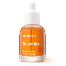 Aromatica Organic Rosehip Face Oil 30ml Super Moisturizing facial Oil Vegan