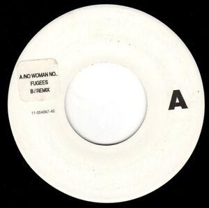 """Fugees – No Woman No Cry. 7"""" Jukebox Copy. Mint."""