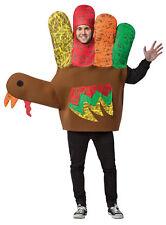 Hand Turkey Adult Funny Costume Tunic Halloween Dress Up Rasta Imposta