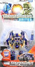 New TakaraTomy Transformers United UN05 Soundwave Cybertron Mode Painted