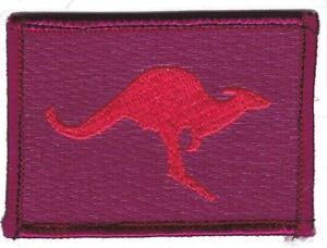 Army Australia Iraq Kangaroo Deployment Patch hook backing