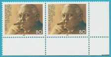 Bund aus 1987 ** postfrisch MiNr.1308 I F50 - Ludwig Erhard! Plattenfehler!