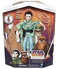 Star Wars Forces Of Destiny Princess Leia Organa & Wicket The Ewok Endor Set 12""