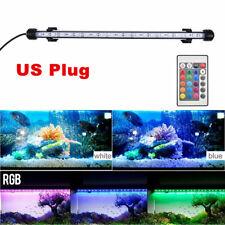 Led Aquarium Submersible Light Glass Strip Bar Lights Fish Tank Underwater Lamp