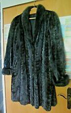 vintage nerzmantel dunkelbrauner mokka ton saga select mink coat maßgefertigt