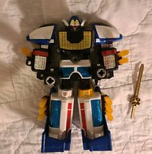 "99% Complete Power Rangers Lightspeed Rescue 9"" Megazord Solarzord Figure"
