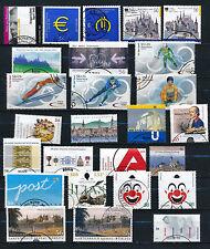 BRD Bund 2002  gestempelt mit Blöcken komplett - viele ESSt + sk-Marken !