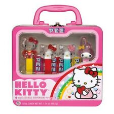Hello Kitty and My Melody Collectible Pez Lunch Box Set