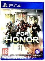 Playstation 4 - PS4 - For Honor + Uncharted 3 Versione Ufficiale NUOVI #016