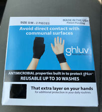 ghluv ANTIMICROBIAL Hand Protectors Protect Against Microbes Gloves Reusable S/M