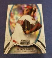 TREVOR BAUER 2011 BOWMAN STERLING CARD #32 INDIANS (ROOKIE REFRACTOR) SP #/199