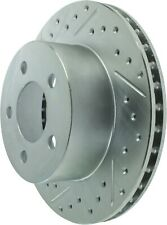 StopTech Disc Standard Brake Rotor for 1997 - 1999 Jeep TJ # 227.67022R