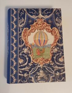 Punch Studio Faux Book Storage Box Kirshner Decorative Art Hot air balloon
