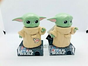 2 Star Wars Mandalorian Baby Yoda The Child Candy Dispenser with Sound