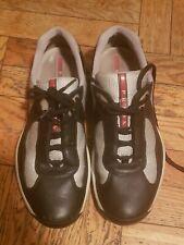 Prada America's Cup PS0906 Prada's Size 7 Black & Silver Men US Size 9/9.5