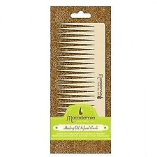 Macadamia Natural Oil Infused Comb 1pc Combs