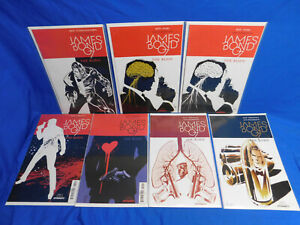 James Bond The Body #1 2 3 4 5 6 DYNAMITE 2018 Complete Series + 1 Variant