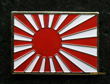 RISING SUN FLAG IMPERIAL JAPANESE JAPAN LAPEL HAT PIN UP TIE TAC WOW