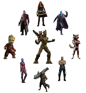 GUARDIANS OF THE GALAXY MARVEL COMICS SUPERHERO   LOT OF STICKER WALL DECAL
