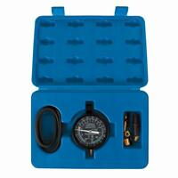 Silverline Vacuum Fuel Pump Pressure Testing Gauge Set Tool Kit With Case