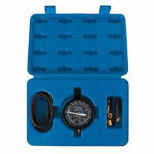 New! Vacuum Fuel Pump Pressure Testing Gauge Set Tool Kit In Case