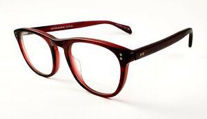 Oliver Peoples OV 5187 Florenz eyeglasses 1131 Matt Bordeaux size 48