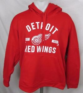 Detroit Red Wings NHL Adidas Climawarm Men's Pullover Hoodie