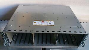 EMC Dell KTN-STL3 15-Bay Hard Drive Enclosure 2 x 3G SAS Controllers W843N