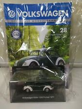 VW Volkswagen Sammlung DeAgostini 1:43 Ausgabe 28 Käfer 1200 Polizei 1971